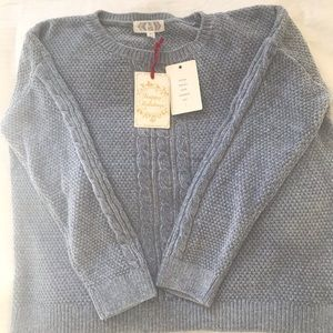 NWT Pink Rose L Soft and Cozy Sweater